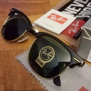 Ray ban Clubmaster Black 3016  W065 51mm UNISEX